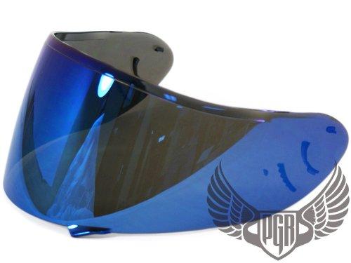 BLUE Shoei CW-1 Helmets Aftermarket Replacement Shield Visor X-12 RF-1100 Qwest XR-1100 X-SPIRIT2 Helmets