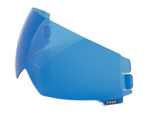 Scorpion EXO-100 Blue Street Helmet Speedview Sun Visor
