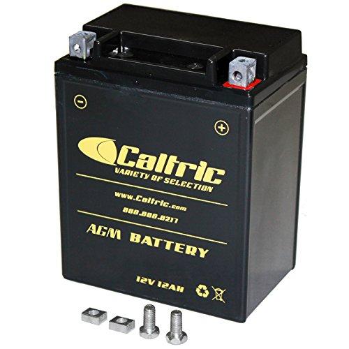 CALTRIC AGM BATTERY Fits HONDA CX500 CX500C CX500D CX500TC CX650T 1979-1983