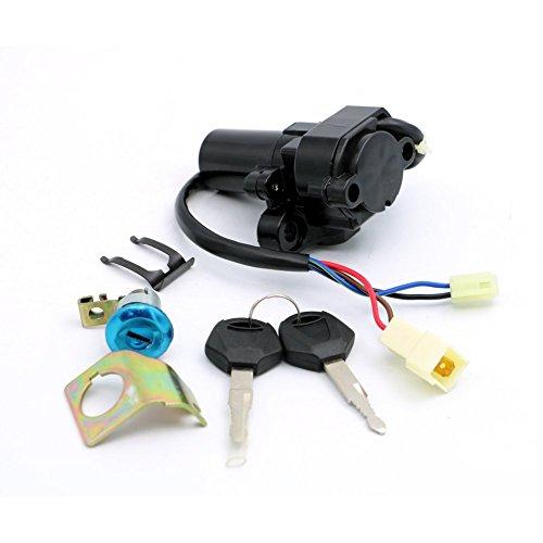 Alpha Rider Ignition Switch Lock Key Set For Yamaha YZF R1 2002-2003 2007-2011 R6 2003-2011 YZF R6S 2003-2009 YZF FZ6 FZ6S FZ6N 2004-2010 FJR1300 2001-2010