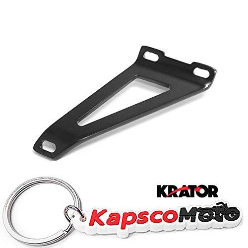 Krator Motorcycle Exhaust Hanger Brackets Black for Suzuki GSXR 600 2001-2003  GSXR 750 2000-2003  GSXR 1000 2001-2004  Yamaha YZF R1 2000-2005  KapscoMoto Keychain
