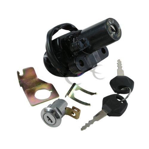 Tengchang Ignition Switch Lock Keys For Yamaha YZF R6S 2006-2009 YZF R1 2002-2003 YZF FZ6 FZ6S FZ6N 2004-2010 YZF R6 2006-2011 YZF R1 2007-2011 FJR1300 2001-2010