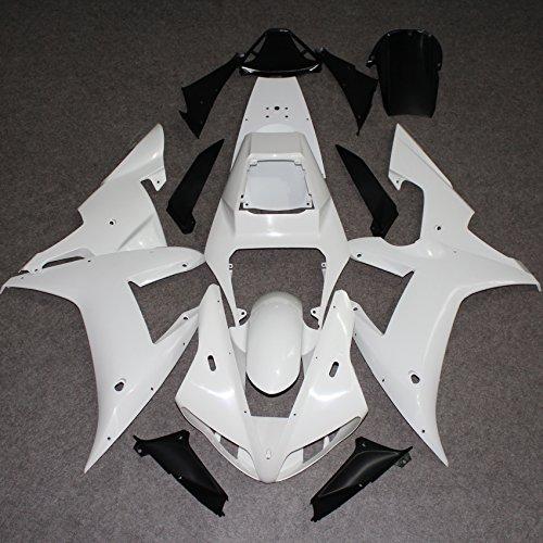 ZXMOTO Unpainted Fairing Kit for Yamaha YZF R1 2002-2003