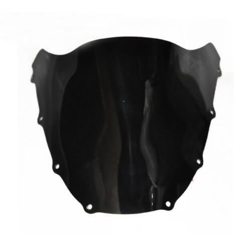 Wotefusi New Motorcycle Black Dark Smoke Windscreen Windshield For Kawasaki ZX9R 1998-1999