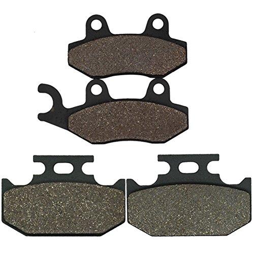 Cyleto Front and Rear Brake Pads for SUZUKI GS550E GS 550 E 1983 1984 1985 1986  GSX550E GSX 550 E 1984 1985 1986 1987