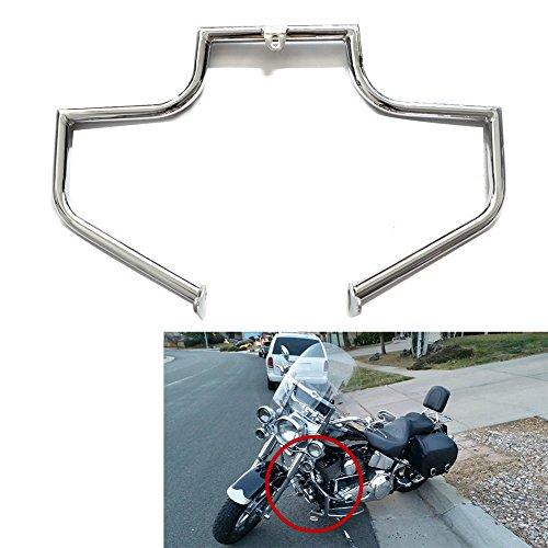 Engine Guard Crash Bar Highway For Harley FLSTN FLSTNI Softail Deluxe FLSTF FLSTFI Fat Boy