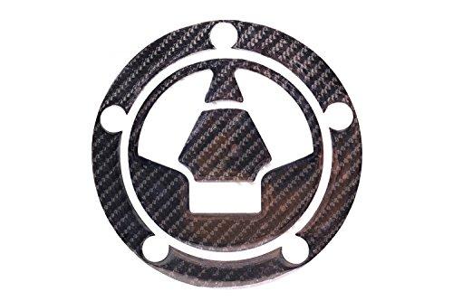 Carbon Fiber Fuel Gas Tank Petrol Cap Pad Protector Sticker Badge Decal For Kawasaki All 06-14/z1000 14-15/z1000sx
