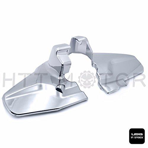 SMT MOTO- Chrome Engine Lower Side Frame Covers For Honda Goldwing GL1800 2001-2011 02 03