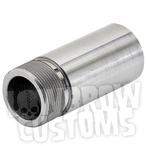 Lowbrow Customs 3324 Frisco Style Steel Petcock Bung Perfect for Panhead Ironhead Shovelhead and Custom Applications22 mm Long