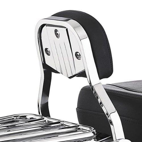 Cobra Swept Billet Backrest Plate For Short/mini Sissy Bars