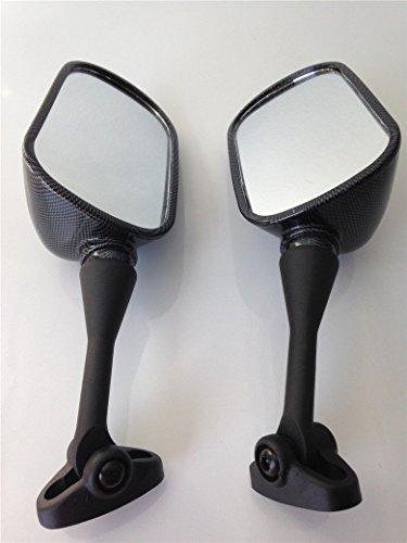 HTT Group Motorcycle Carbon Fiber Racing Mirror For 1999-2006 Honda CBR 600 F4 F4i CBR600RR2000-2006 Honda RC51 RVT1000R2002-2003 Honda CBR954RR