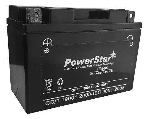 Maintenance Free Battery 2001-2007 Yamaha YZF-R6 R6S Size YT9B-BS Battery