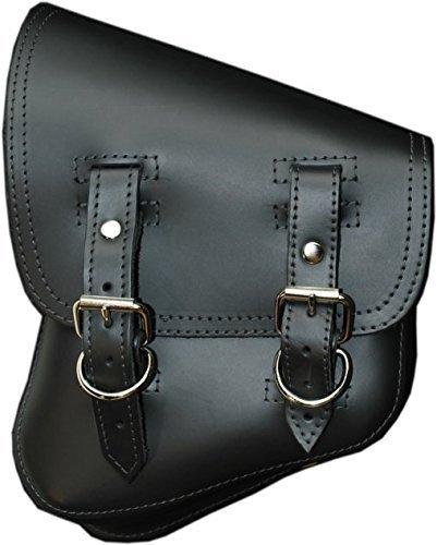 La Rosa Harley-Davidson V Rod Night Rod Special Black Leather Left Saddlebag