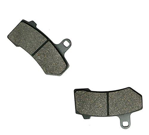 CNBK Front Left Brake Shoe Pads Semi-Metallic fit for HARLEY DAVIDSON Street Bike FLHX 1584 Street Bike Glide 08 09 10 11 12 13 14 15 2008 2009 2010 2011 2012 2013 2014 2015 1 Pair2 Pads