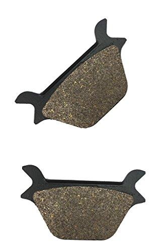 CNBK Rear Brake Pad Semi Met fit HARLEY DAVIDSON Street Bike FXRS 1340 Low Rider SportEd - C456 1 90 91 92 93 94 95 96 97 98 99 1990 1991 1992 1993 1994 1995 1996 1997 1998 1999 1 Pair2 Pads