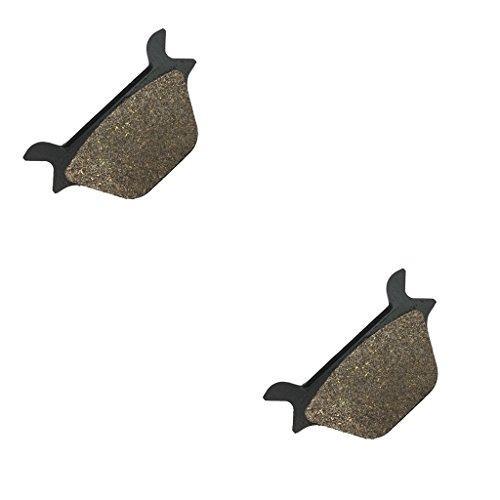 CNBK Rear Brake Pads Carbon fit for HARLEY DAVIDSON Street Bike FXRS 1340 Low Rider Convert - C456 1 90 91 92 93 94 95 96 97 98 99 1990 1991 1992 1993 1994 1995 1996 1997 1998 1999 1 Pair2 Pads