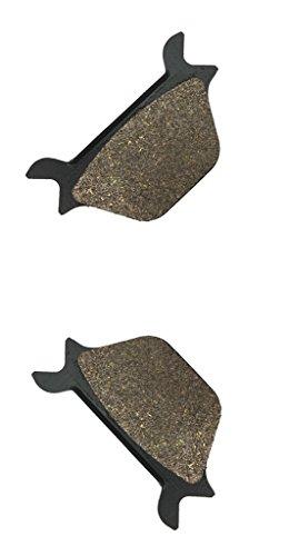 CNBK Rear Brake Pads Semi-met for HARLEY DAVIDSON Street Bike XLH1100 XLH 1100 XL2 C560 1 87 88 1987 1988 1 Pair2 Pads