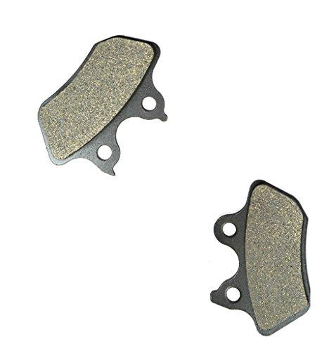 CNBK Rear Brake Shoe Pads Resin fit HARLEY DAVIDSON Street Bike FXDL 1584 Dyna Low Rider 07 07 2007 1 Pair2 Pads