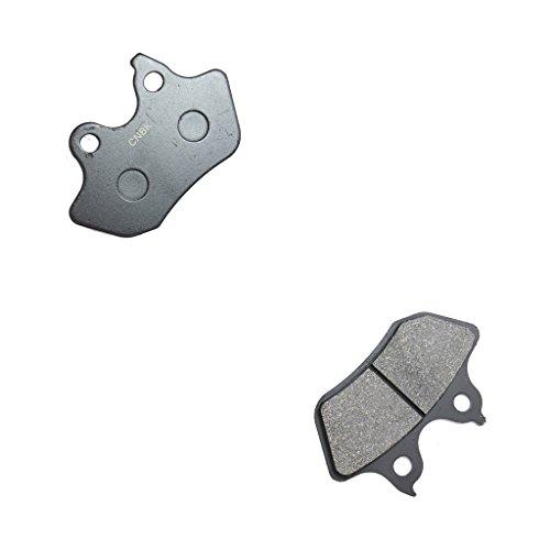 CNBK Rear Disc Brake Pads Resin for HARLEY DAVIDSON Street Bike FLSTC 1450 Heritage Softtail Classic 00 01 02 03 04 2000 2001 2002 2003 2004 1 Pair2 Pads