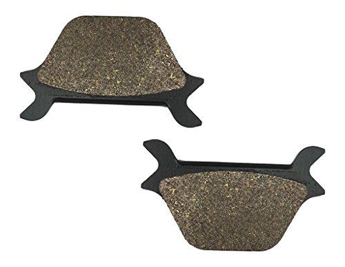 CNBK Rear Disc Brake Pads Semi Metallic fit for HARLEY DAVIDSON Street Bike FXDL 1340 Dyna Low Rider 93 94 95 96 97 98 99 1993 1994 1995 1996 1997 1998 1999 1 Pair2 Pads