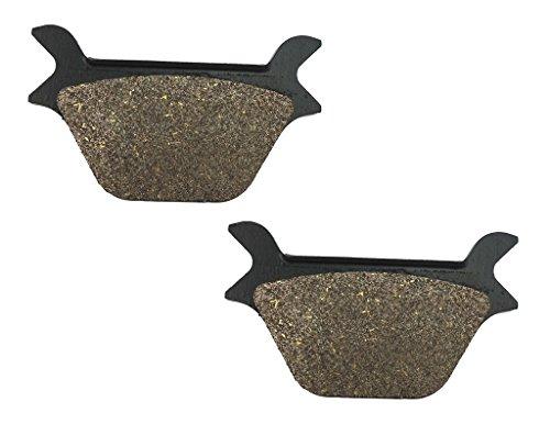 CNBK Rear Disc Brake Pads Semi-Metallic for HARLEY DAVIDSON Street Bike FLSTF 1340 Fat Boy 90 91 92 93 94 95 96 97 98 99 1990 1991 1992 1993 1994 1995 1996 1997 1998 1999 1 Pair2 Pads