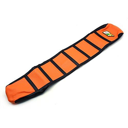 JFG RACING OrangeBlack Motorcycle Gripper Soft Motorcycle Seat Cover For KTM 65 85 125 200 250 300 400 450 525 SX EXC MXC 03-07