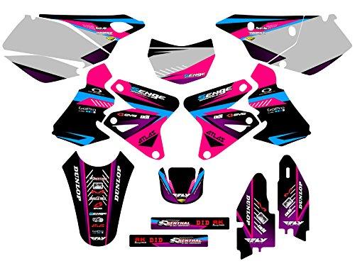 Senge Graphics 2005-2017 Suzuki DRZ 400 SM Surge Pink Graphics Kit