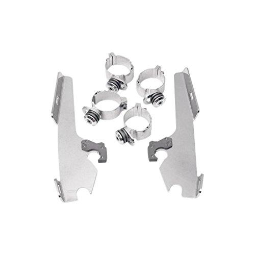 Memphis Shades Trigger Lock Mount Kit-Batwing - Polished
