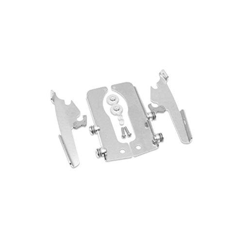 Memphis Shades Trigger-Lock Mount Kit for Batwing Fairing and FatsSlim Windshields - Polished MEM8964