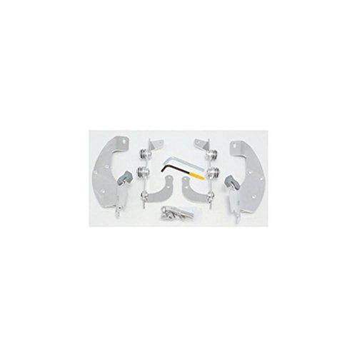 Memphis Shades Trigger-Lock Mount Kit for Batwing Fairing and FatsSlim Windshields - Polished MEM8980