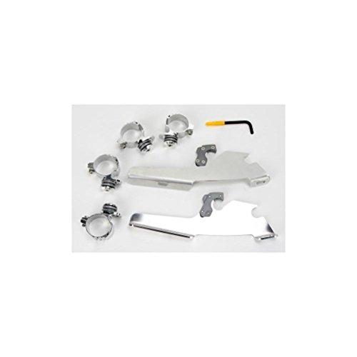 Memphis Shades Trigger-Lock Mount Kit for FatsSlim Windshields - Polished MEM8978