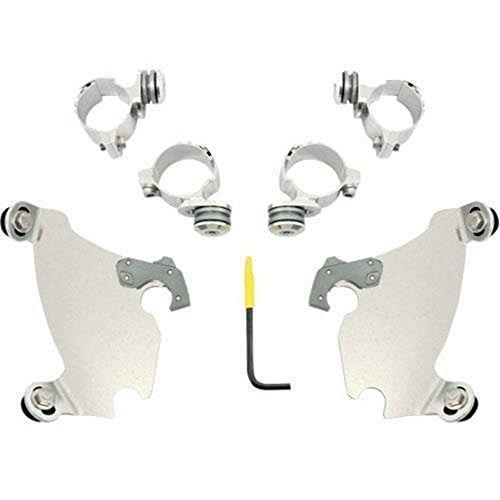 Memphis Shades Trigger Lock Mount Kit for Gauntlet Fairing - Polished