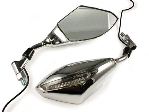 Honda CB250 Nighthawk 750 Shadow VT 750 VTX 1300 1800 LED Turn Signals Mirrors
