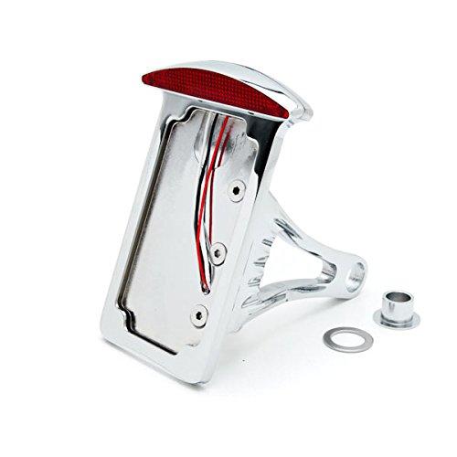 Krator Side Mount Verticle Plate LED Tail Brake Light For Honda VTX 1300 C R S RETRO