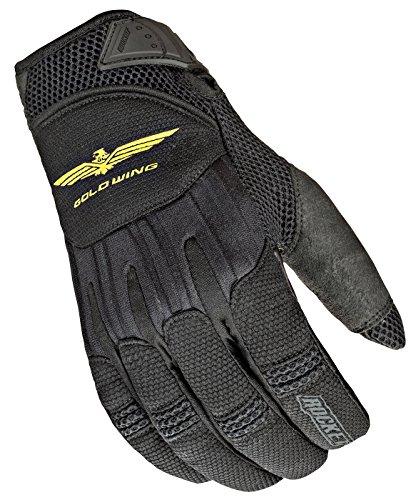 Joe Rocket Goldwing Skyline Mens Motorcycle Riding Gloves BlackBlack X-Large