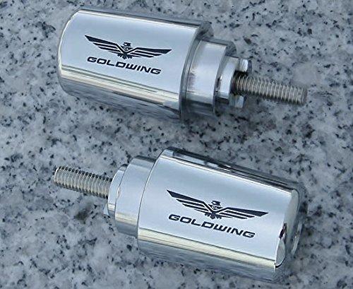 i5 Chrome Bar Ends for Honda Goldwing 1800