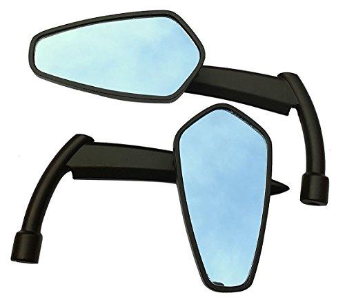 Black Blade Sickle Grim Reaper Scythe Mirrors for 2014 Harley-Davidson Night Rod Special VRSCDX