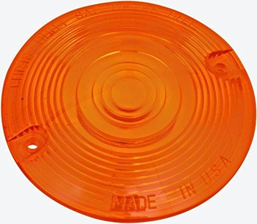 Amber Turn Signal Flat Lens Harley Heritage Softail Classic - FLSTC 1987-2014 repl OEM 68440-86