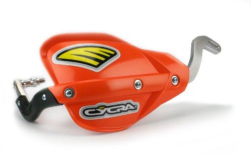 Cycra Probend Flexx Bar Motorcycle Direct Mount Racer Pack with Orange Enduro Handshields