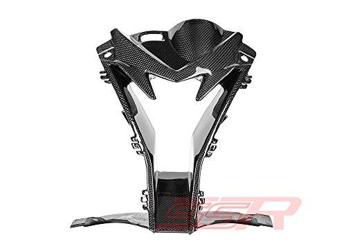 2015-2017 BMW S1000RR Carbon Fiber Fibre Center Headlight Air Ram Intake Inlet Fairing