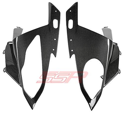 2015 BMW S1000RR 100 Carbon Fiber Fibre Left Right Headlight Cowl Bodywork Fairing