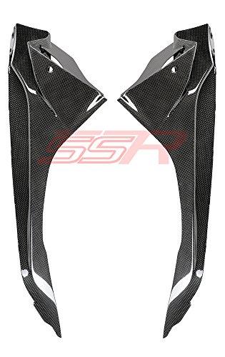 2015 BMW S1000RR 100 Carbon Fiber Fibre Upper Side Infill Panel Cover Fairings