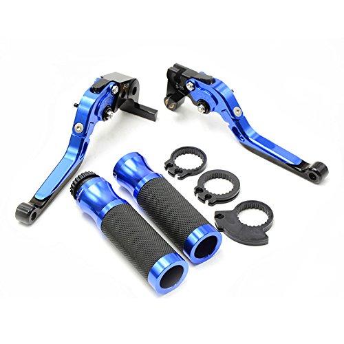 Decal Story Blue Brake Clutch Lever handlebar handle bar For For Suzuki GSXR1000 2005-2006  GSXR 600 750 2006-2010