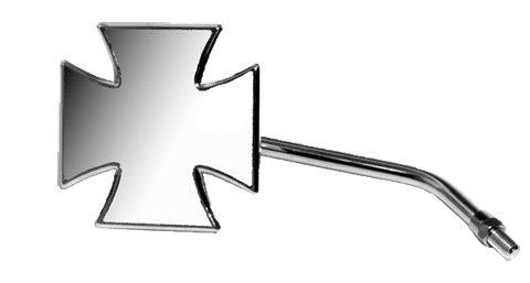 Emgo Maltiese Cross Mirror - 10mm Yamaha RH 20-34841A