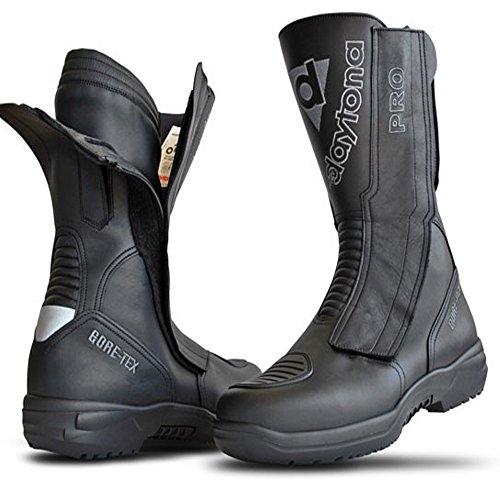 Daytona Travel Star Pro Black Motorcycle Boot