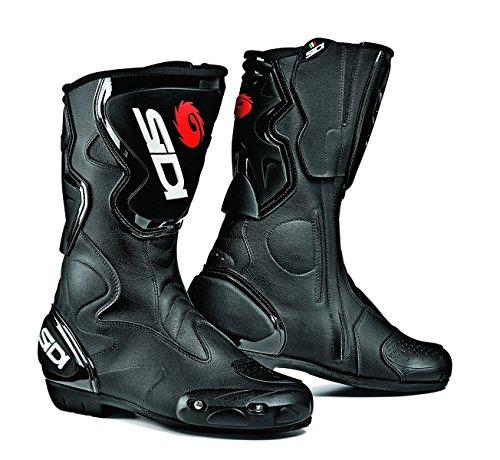 New 2015 Sidi Fusion Black Motorcycle Boots