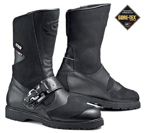 Sidi Canyon Goretex Black Motorcycle Boots