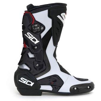 Sidi Roarr WhiteBlack Motorcycle Boots