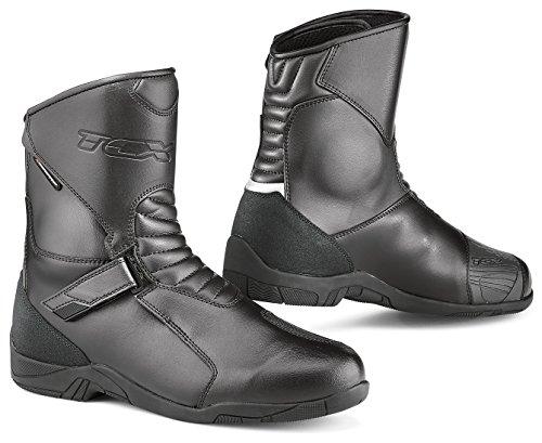 TCX Hub Black Motorcycle Boot 7170W 38  5