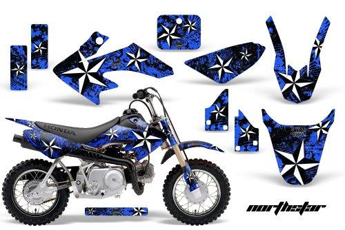 HONDA CRF50 2004-2013 MX Dirt Bike Graphic Kit Sticker Decals CR 50 NORTHSTAR BLUE